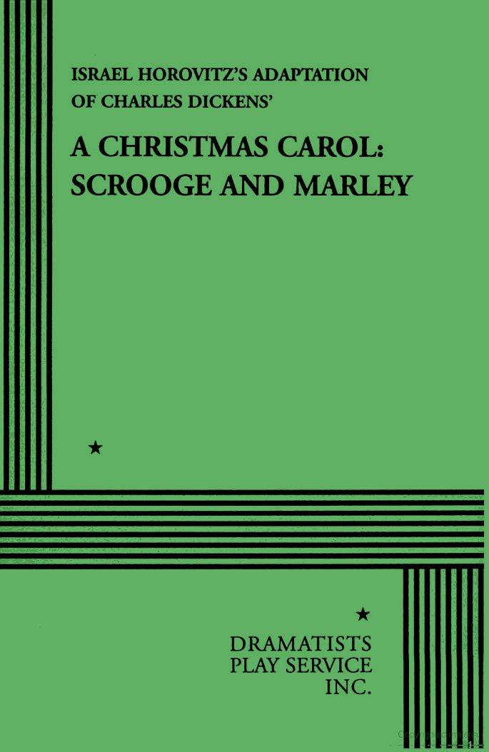 Christmas Carol Scrooge And Marley.A Christmas Carol Scrooge And Marley Horovitz